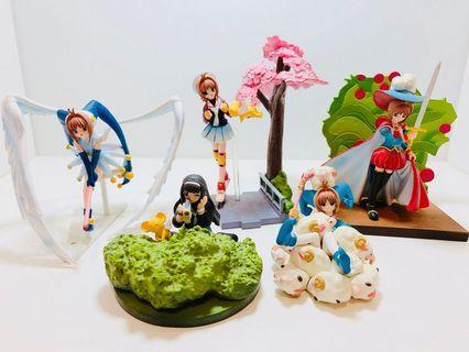 百變小櫻magic咭 知世 基路仔 盒蛋 模型 玩具