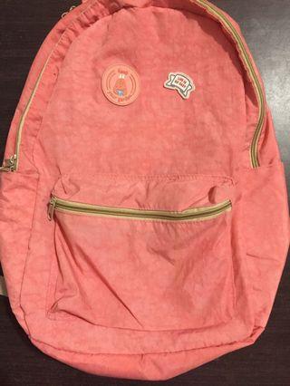 Preloved waterproof bagpack