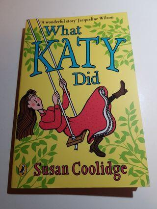 🚚 WHAT KATY DID BY SUSAN COOLIDGE