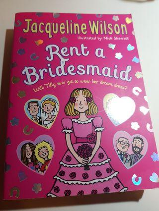 🚚 RENT A BRIDESMAID BY JACQUELINE WILSON