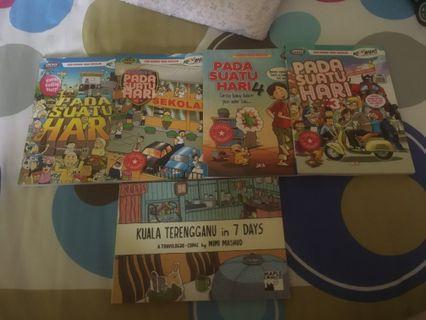 Buku Pada Suatu Hari & Kuala Terengganu in 7 Days