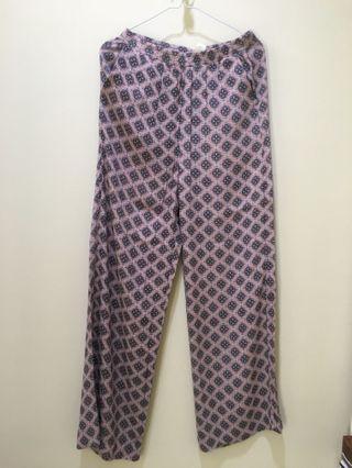 Pattern Pants H&M #maugopay