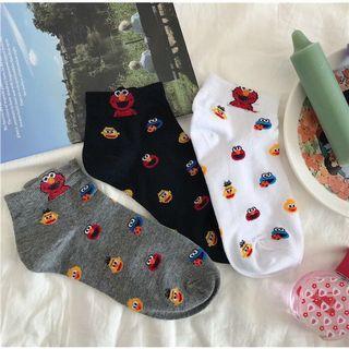 <po> cute elmo socks