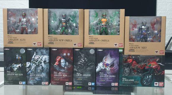 SHFiguarts Kamen/Masked Rider Amazon Amazons Set of 10