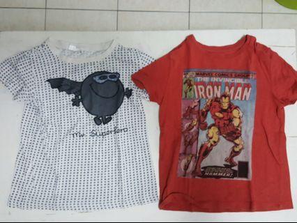 Assorted Boys T-Shirt - 5pcs