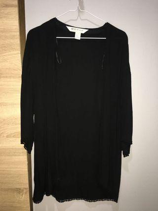 Black Kimono H&M #maugopay