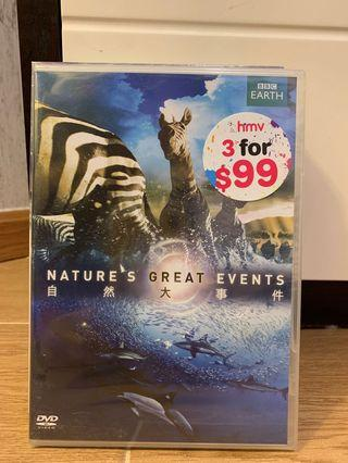 自然大事件 nature's great events dvd