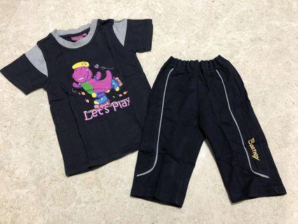 Barney Let's Play Casual Wear Set (4/5yr)