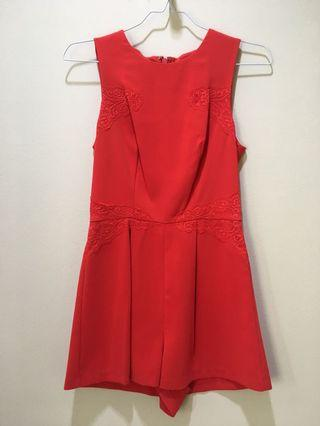 Red Jumpsuit Topshop #maugopay