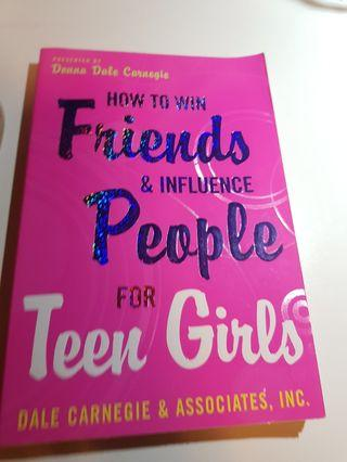 🚚 HOW TO WIN FRIENDS AND INFLUENCE PEOPLE FOR TEEN GIRLS BY DONNA DALE CARNEGIE!