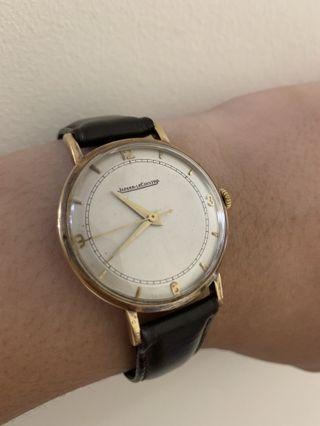Vintage Jaeger LeCoultre 1950's Watch - 18k Yellow Gold