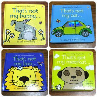 🚚 Usborne Touchy-Feely Books - That's not my...