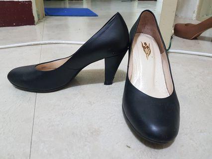 OL空姐職場黑色高跟鞋
