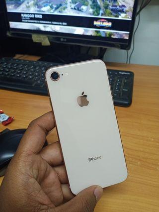 Iphone 8 64gb gold mulus