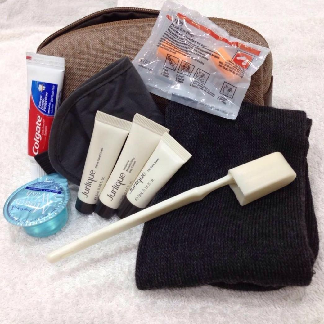 🆕💯 Cathay Pacific Business Class Amenity Kit Bag Pouch