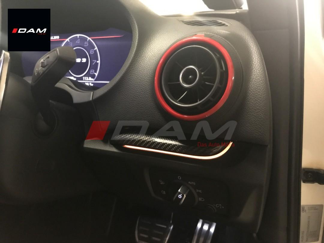 Audi Genuine Parts Audi 8v A3 S3 Rs3 Original Dashboard Trim Ambient Light Car Accessories Electronics Lights On Carousell