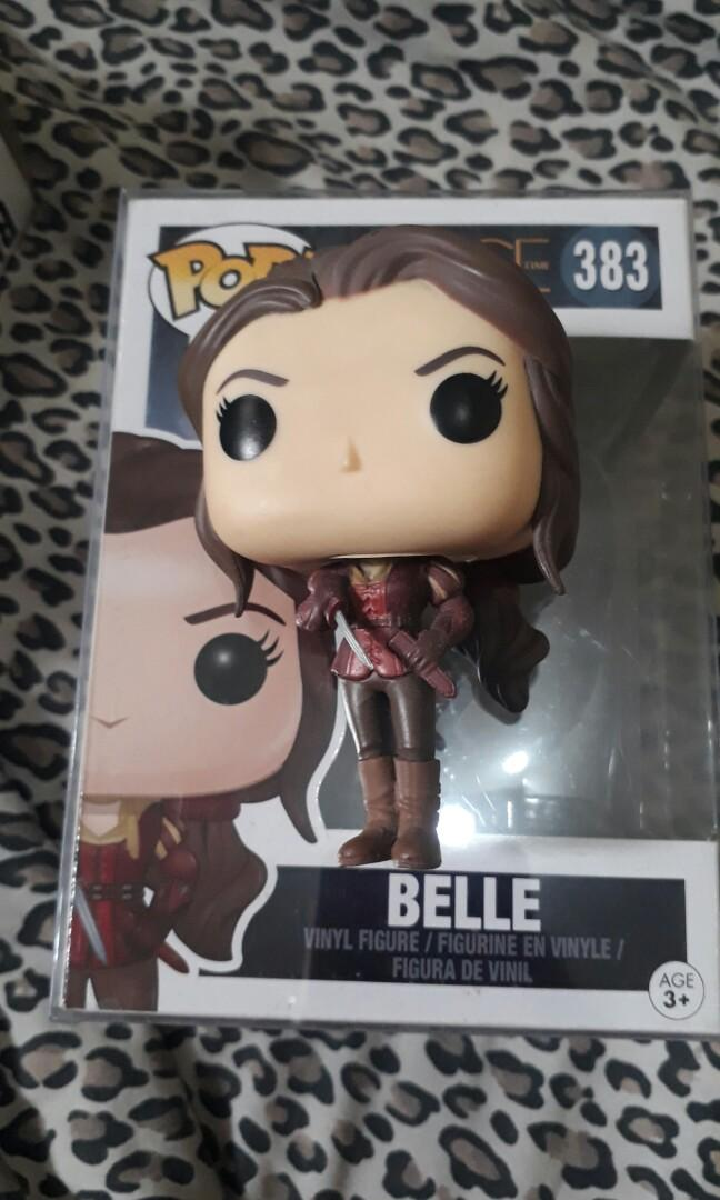 Belle From Once Upon A Time Funko Pop On Carousell