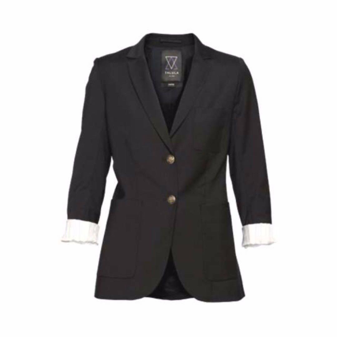 Best Black  Aritzia Talula Exeter Boyfriend Blazer (Size 4) (obo)
