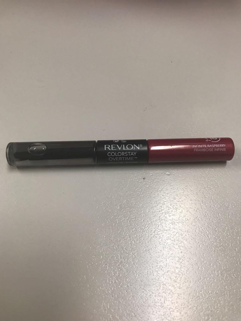 BN Revlon colorstay overtime (16hrs) lipcolor infinite raspberry. Less than half price
