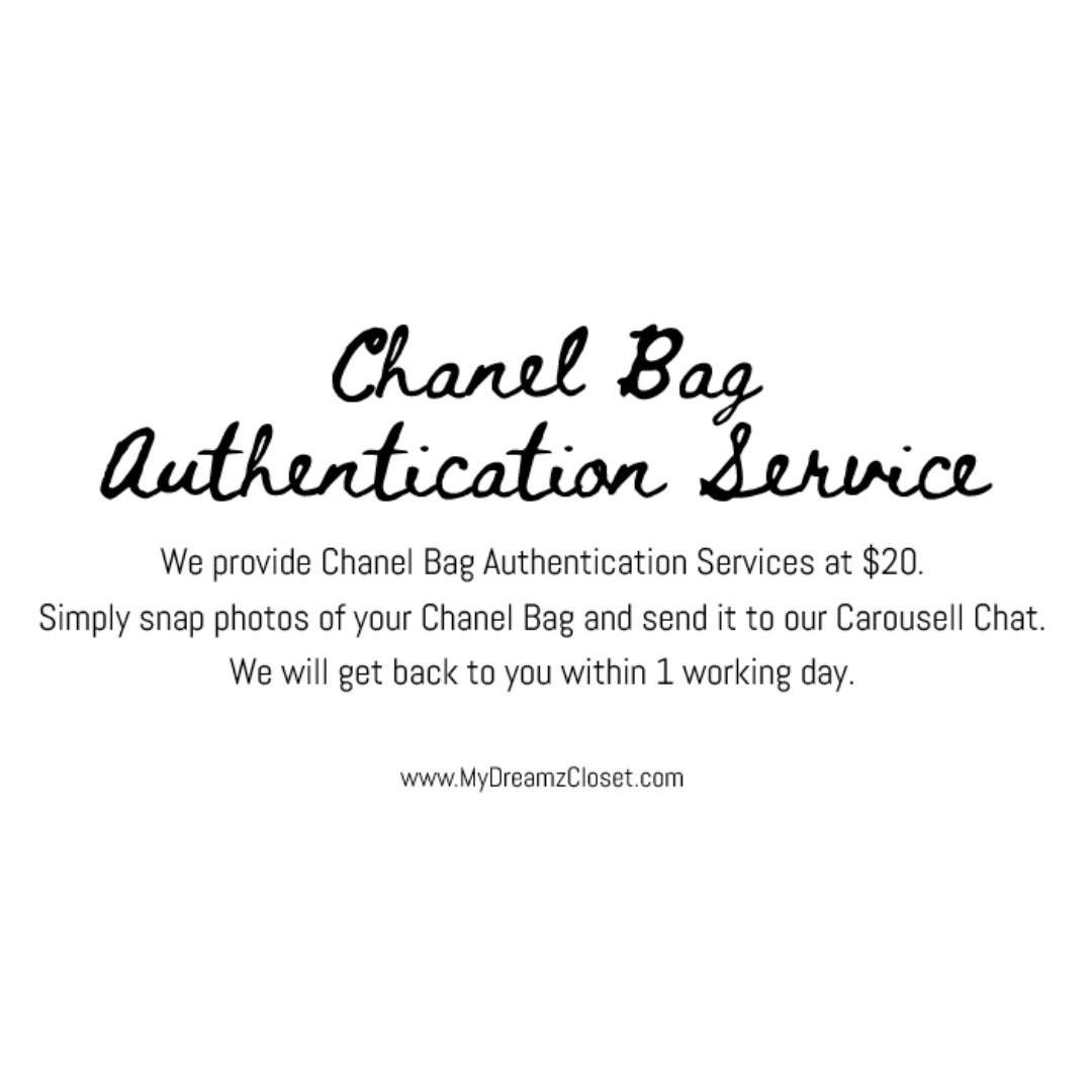Chanel Bag Authentication Service