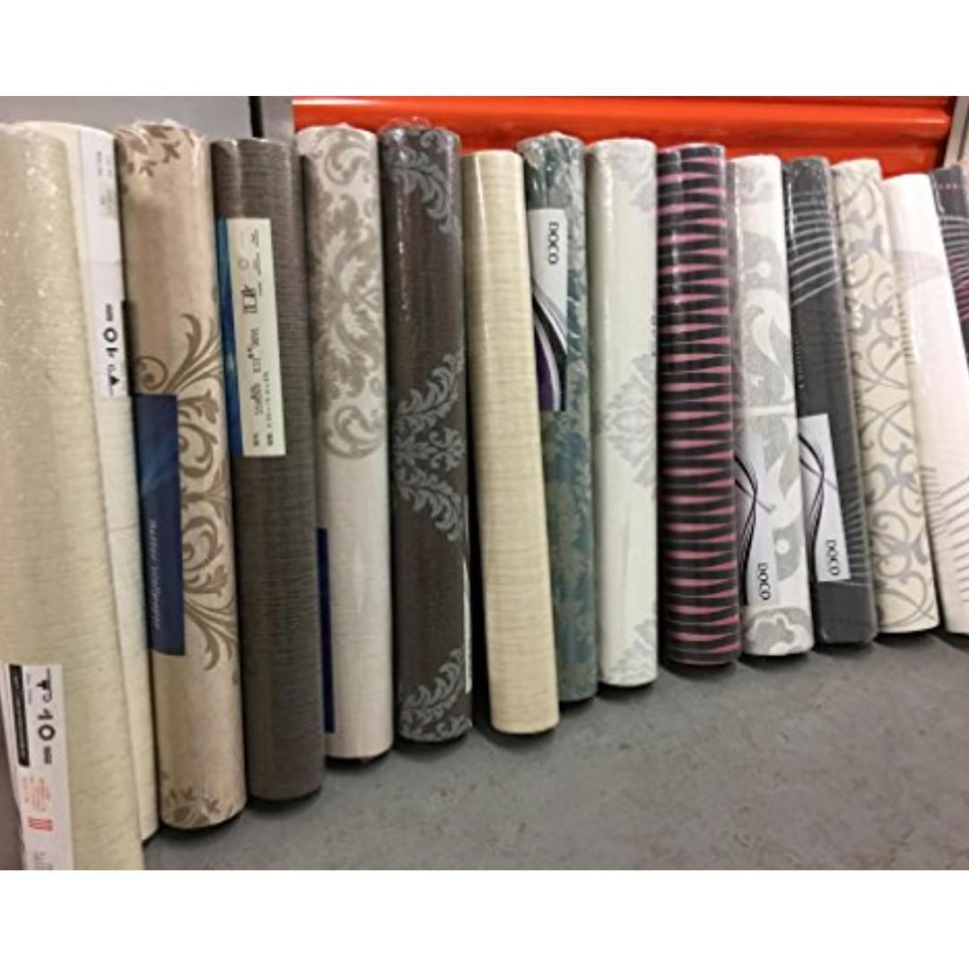 Clearance Direct Factory Wallpaper Rolls With Installation