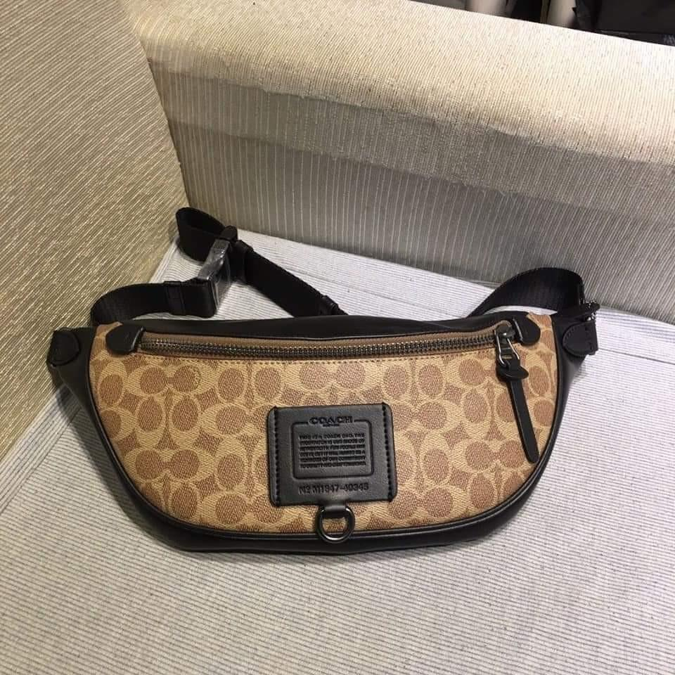 Coach Rivington Belt Bag In signature Canvas