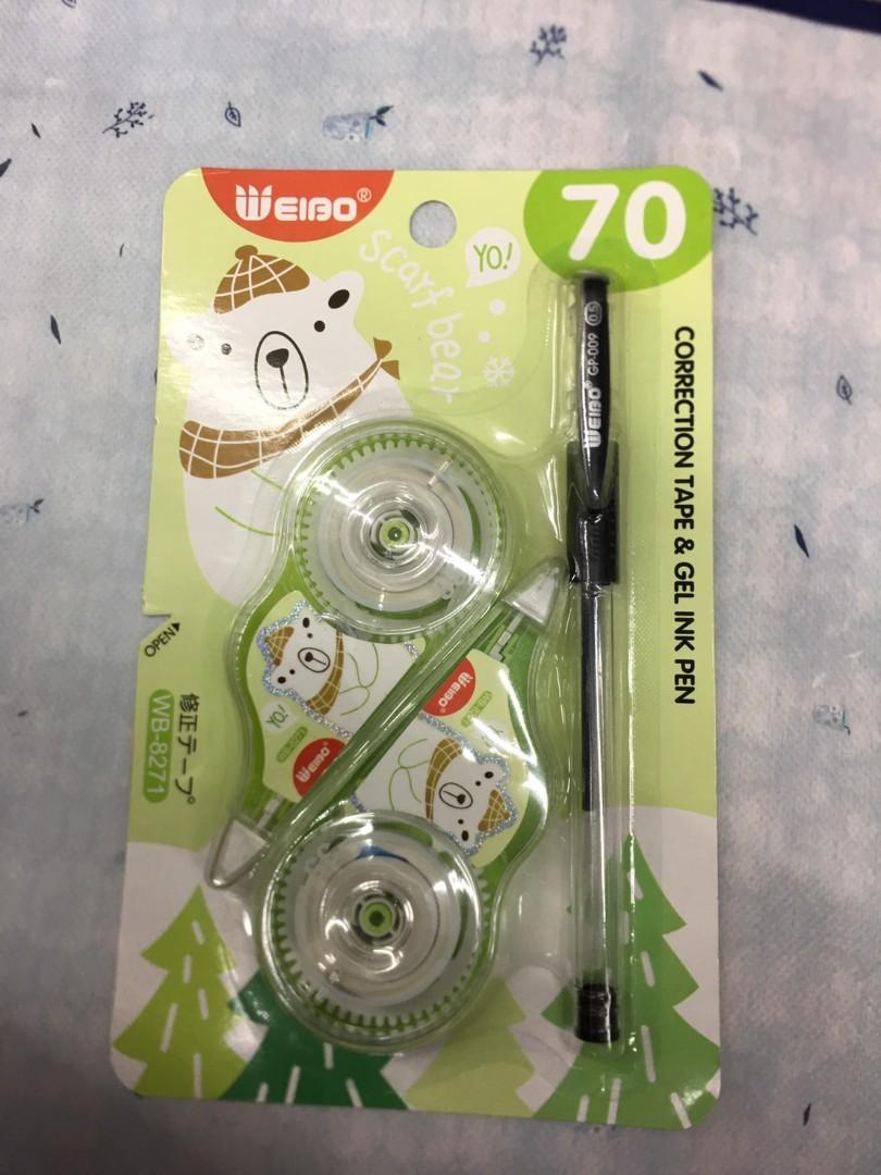Correction tape + Pen