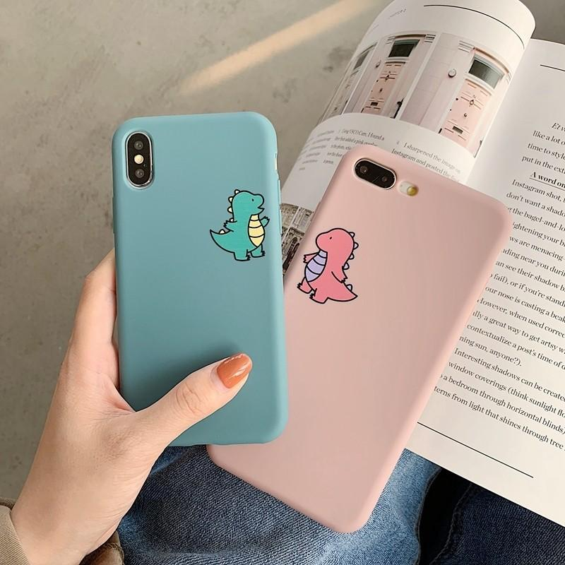 Dinosaur  iphone case  for IPhone  7 8plus IPhone X XR Xmax