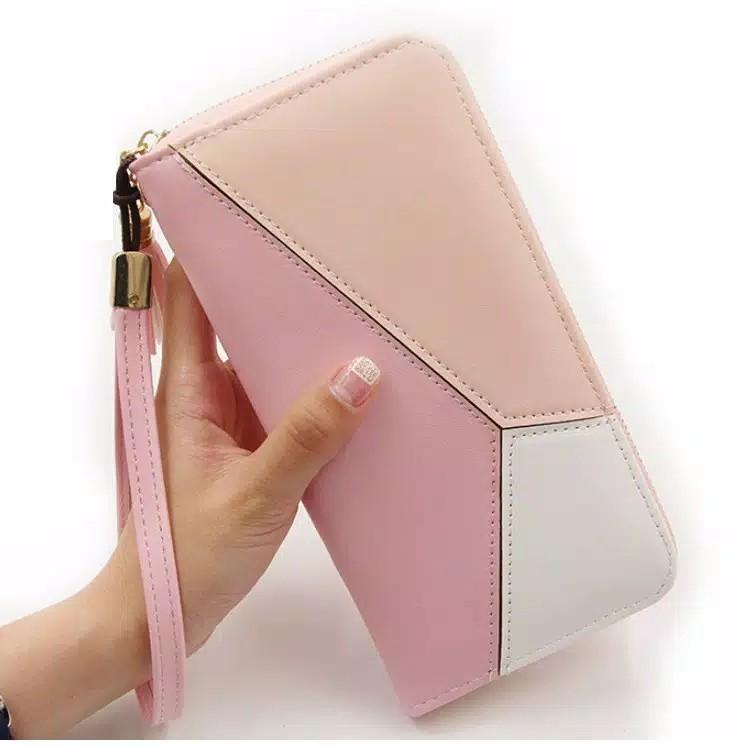 Dompet Panjang Wanita MenBense YNE01 Womens Long Leather PU  Korea Fashion Style High Quality
