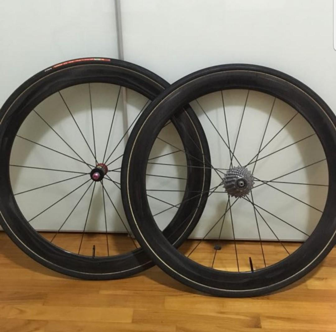 Fulcrum Racing Speed Xlr 50mm Tubular Bicycles Pmds Bicycles Road Bikes On Carousell