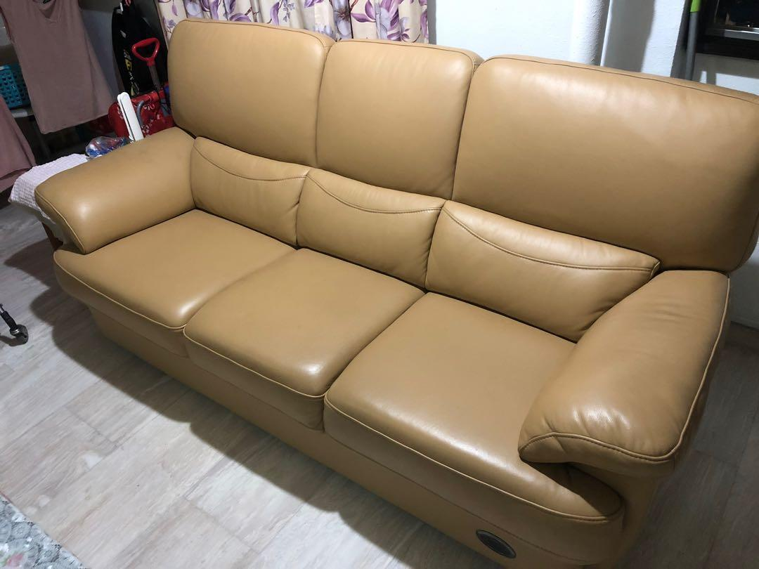 Sofa 3 1 Genuine Leather From Seahorse
