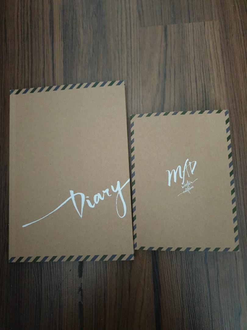 GOT7 MAD WINTER EDITION ( DIARY & HORIZONTAL and VERTICAL PICTURE FRAME)