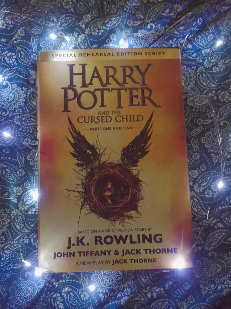 Hard Bound Harry Potter and the Cursed Child Parts 1 and 2 by J.K. Rowling, John Tiffany & Jack Thorne