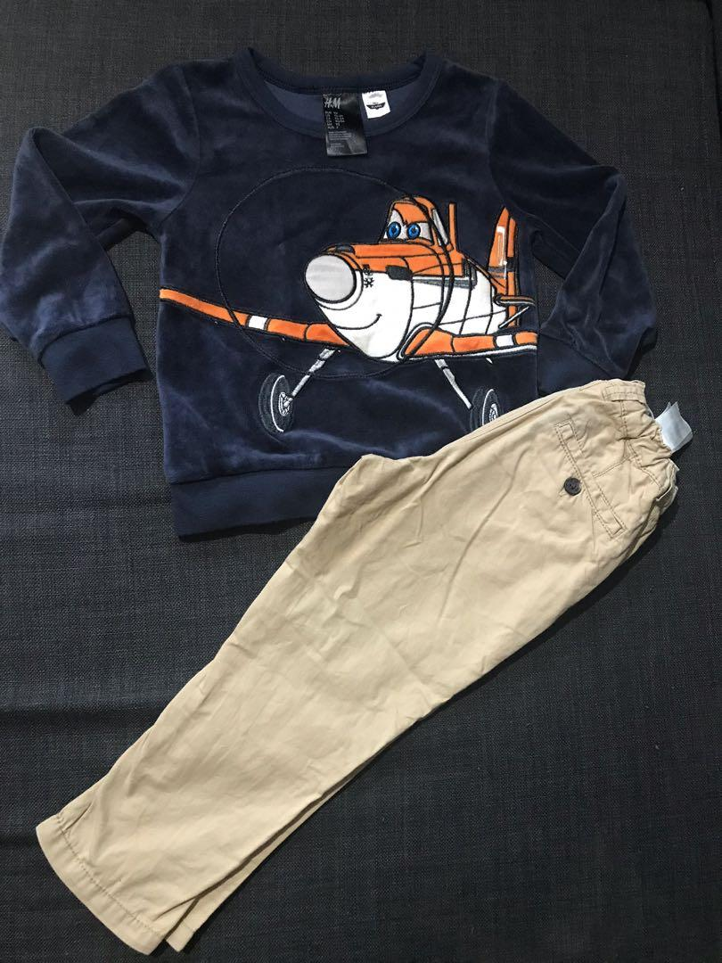 H&M Longsleeves and Pants