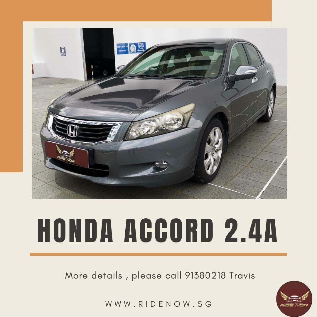 Honda Accord 2.4A Elegant Stylish Car Rental. P Plate Friendly