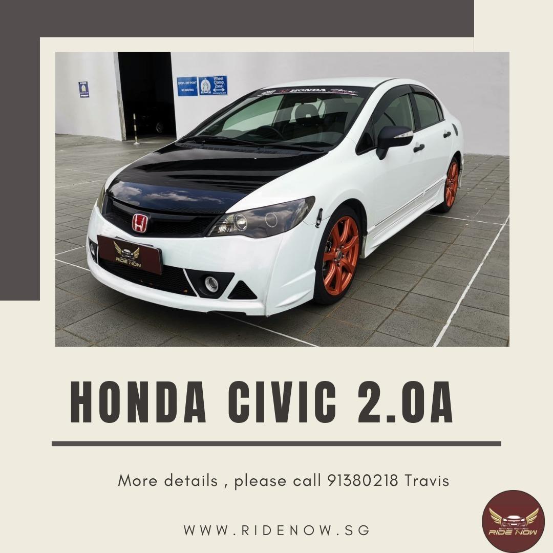 Honda Civic 2.0A Outstanding Loud-looking Car. P plate Friendly