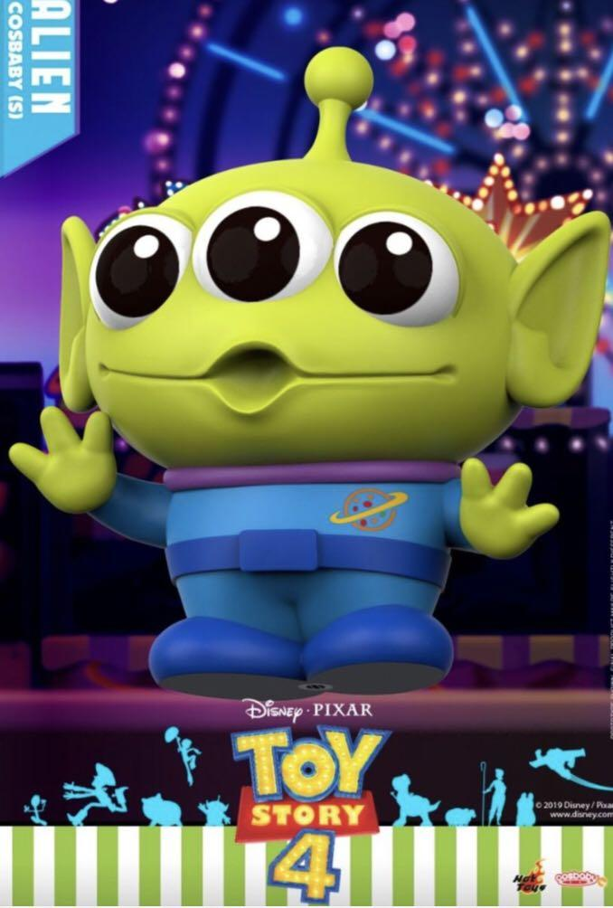 Hot Toys Cosbaby Alien 三眼仔 (Toy Story 4)