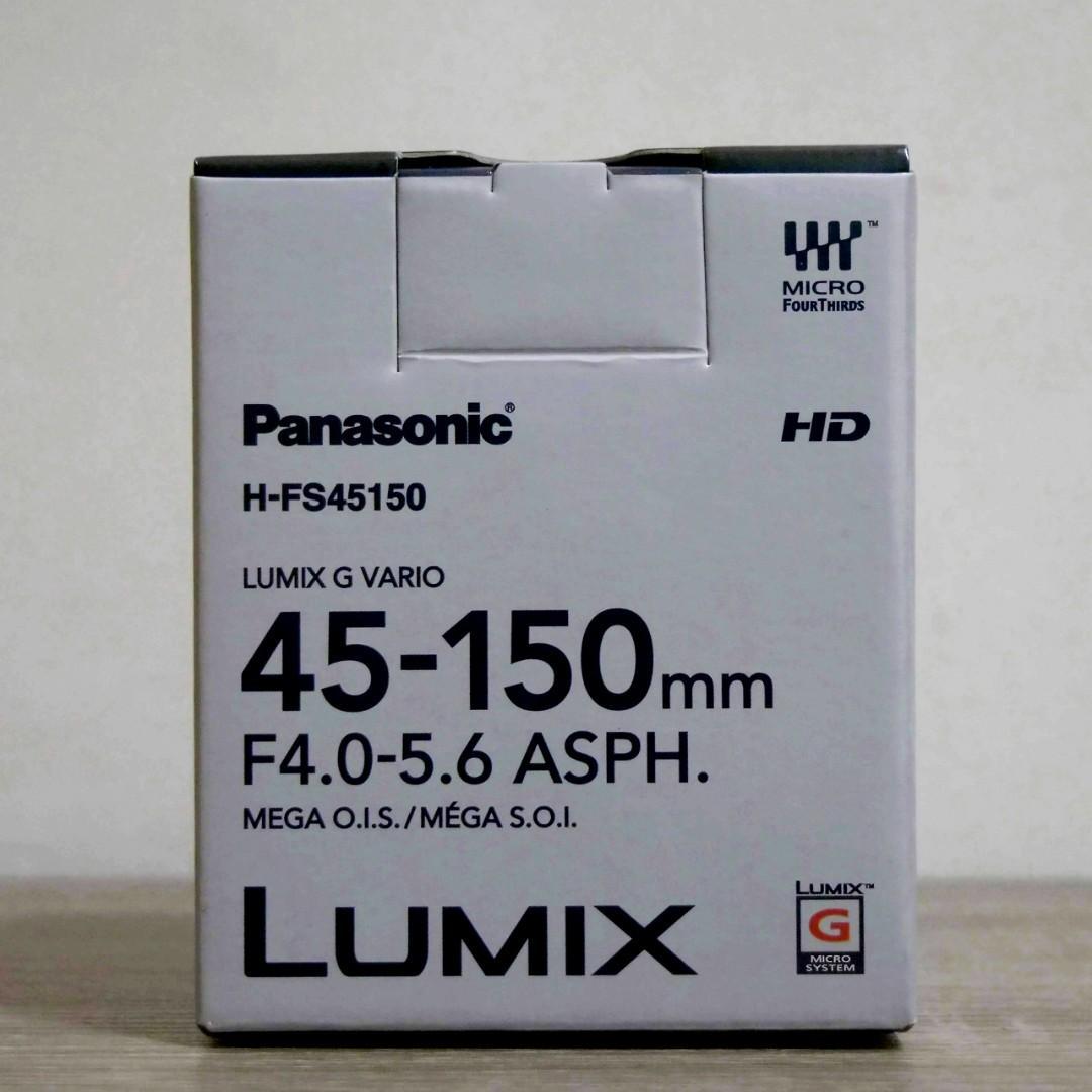 Lensa Panasonic Lumix G Vario 45-150mm f/4.0-5.6 ASPH Mega O.I.S