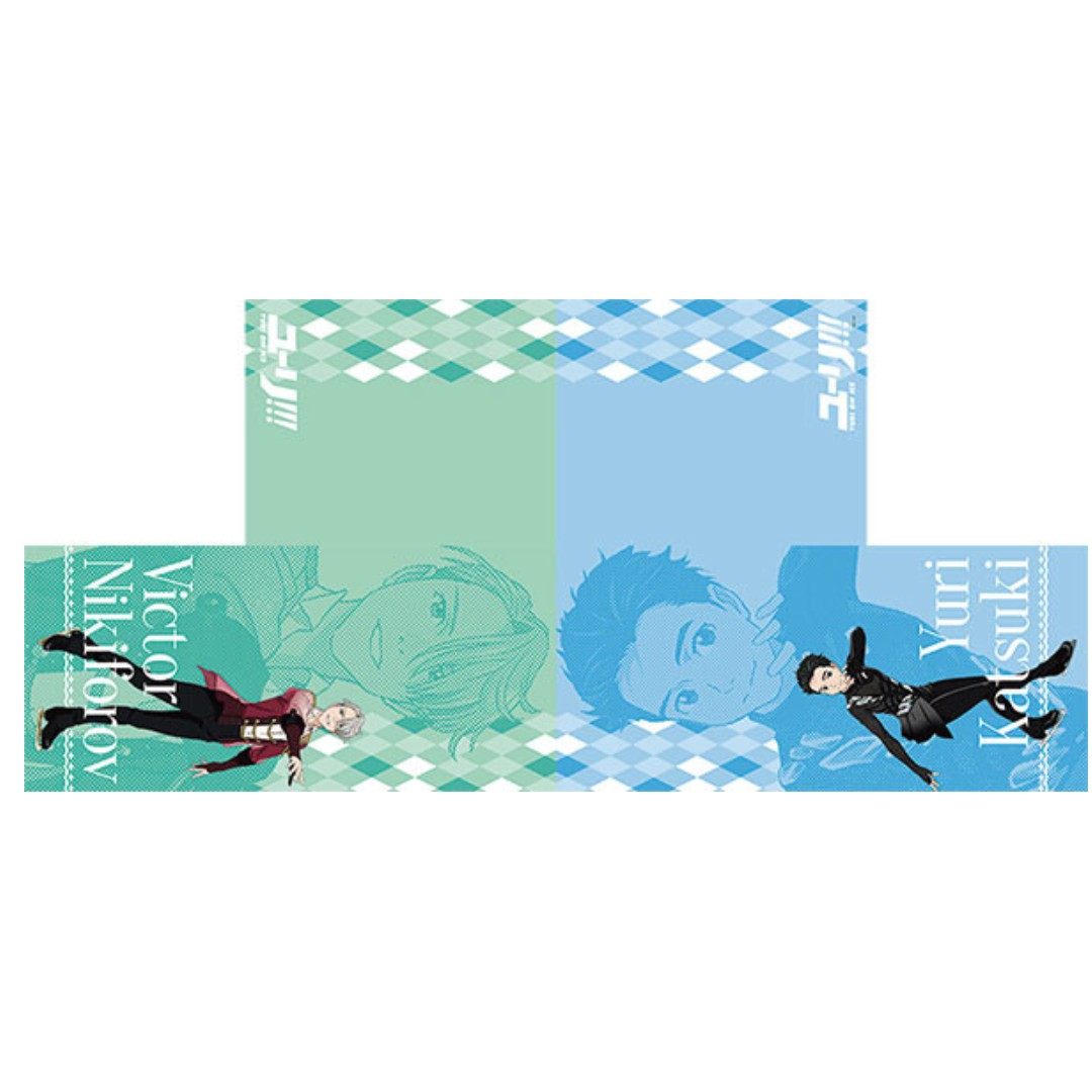 (Limited) Yuri!!! on ICE - Katsuki Yuri & Victor Nikiforov - Hooded Muffler  Towel