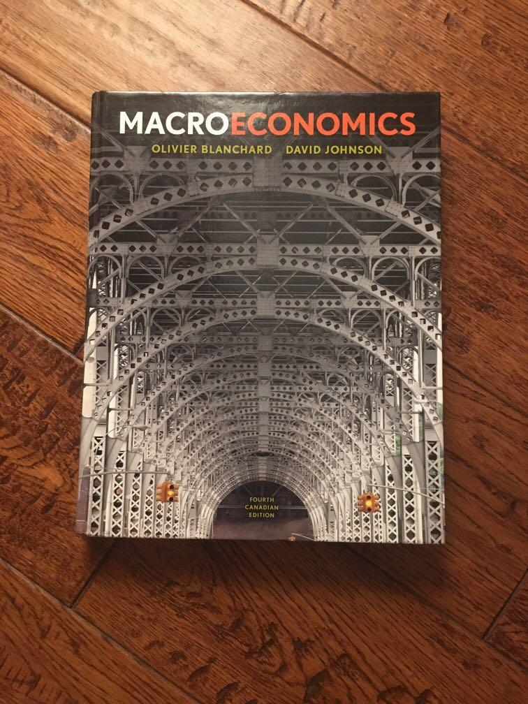 Macroeconomics (Blanchard and Johnson, 4th Canadian edition)