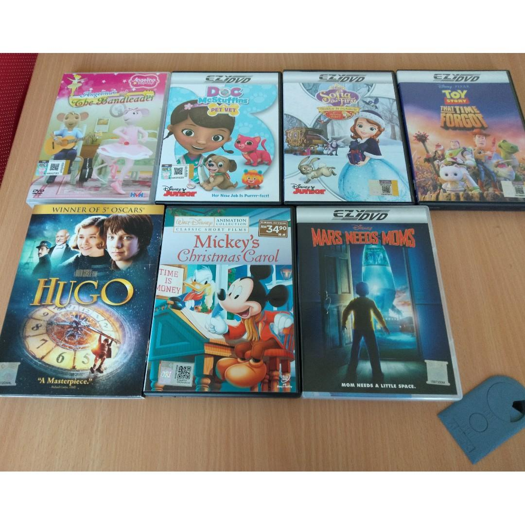 Mickeys Christmas Carol Dvd.Mars Needs Moms Mickey Christmas Carol Dvd On Carousell