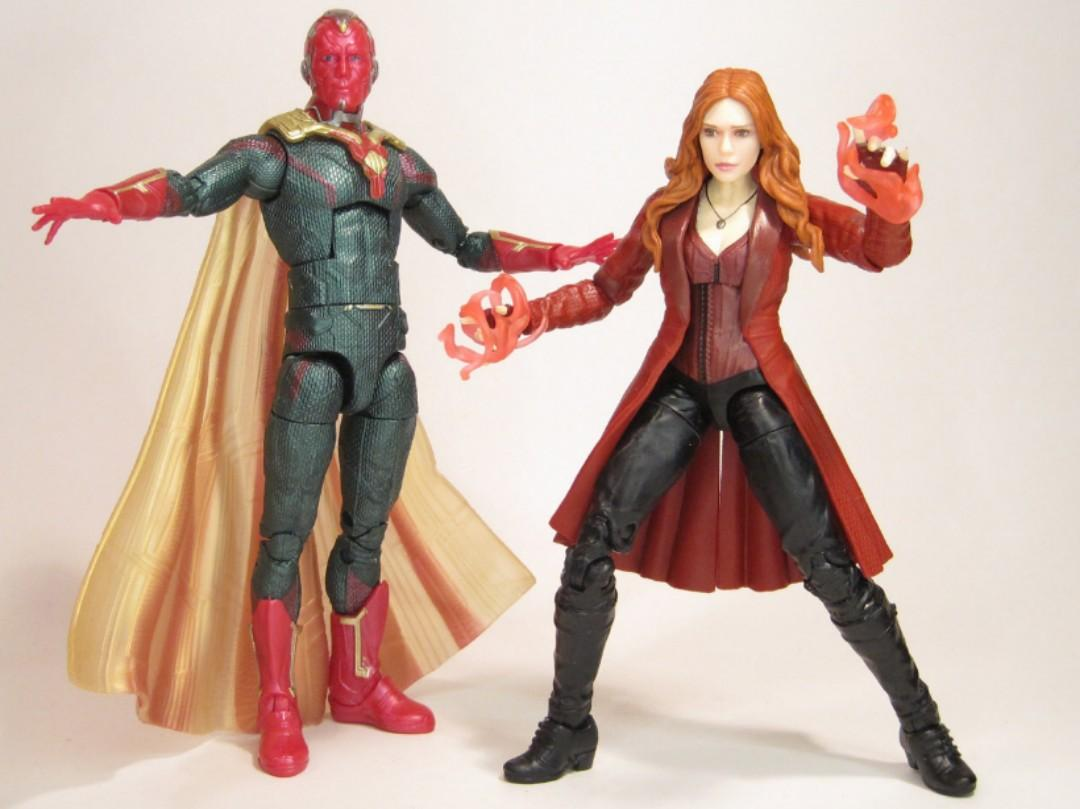 Marvel Legend Scarlet Witch & Marvel's Vision 2Pack TRU Exclusive