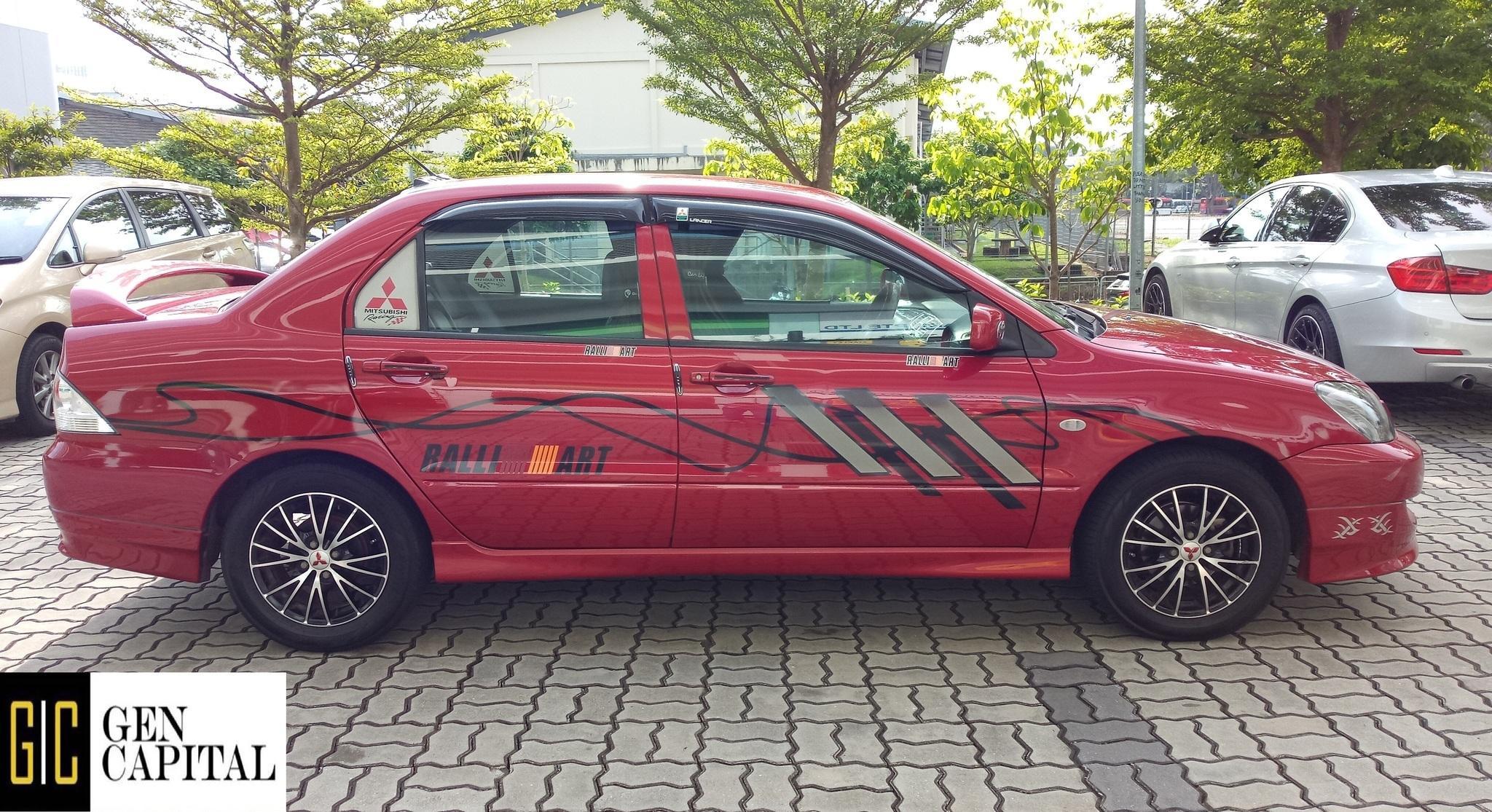Mitsubishi Lancer 1.5A GLX Affordable Rental Car Svs, Grab Gojek Ryde Tada & Non PHV