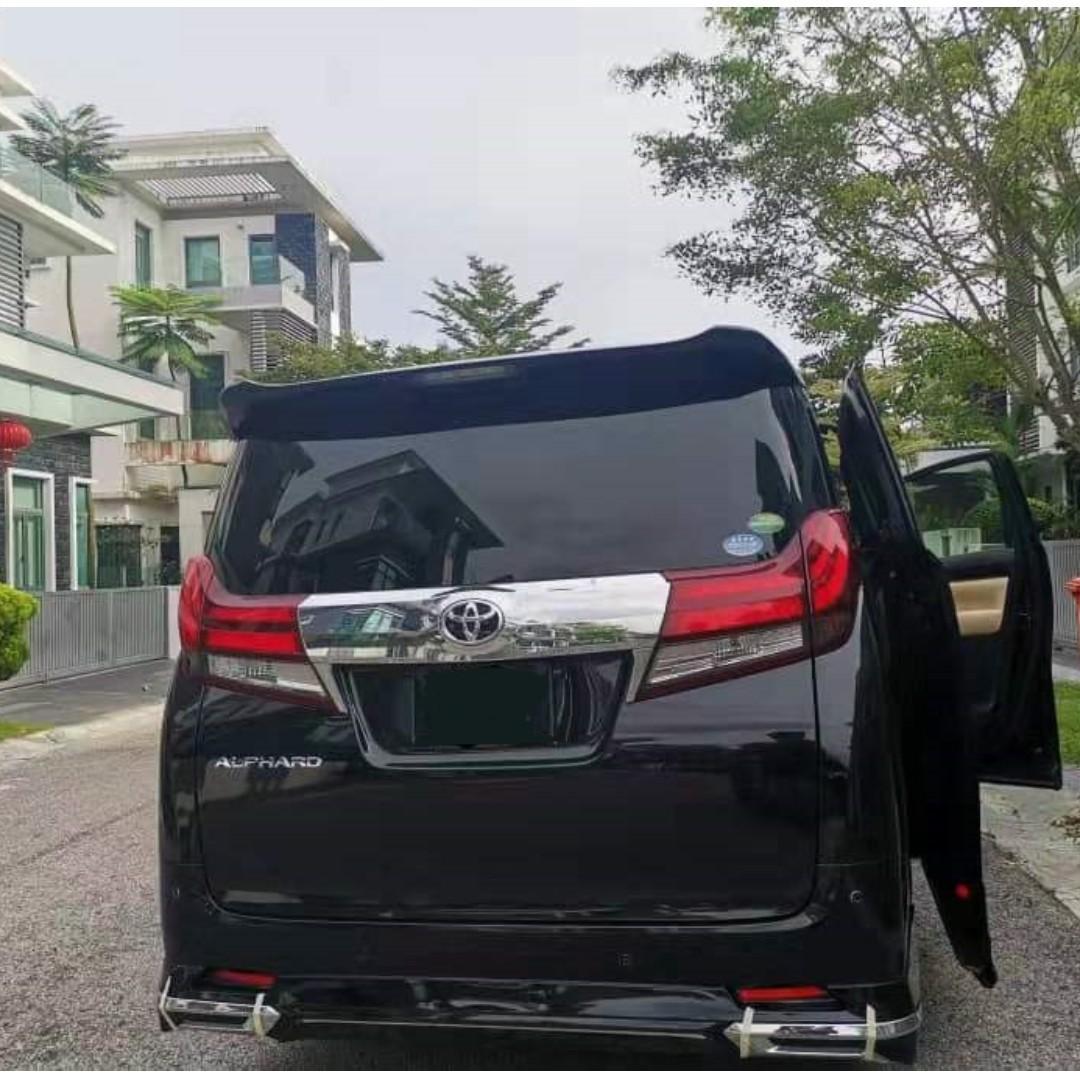 MPV 2018 Toyota Alphard For Rent ❗🚗Kereta Sewa / Shah Alam Klang