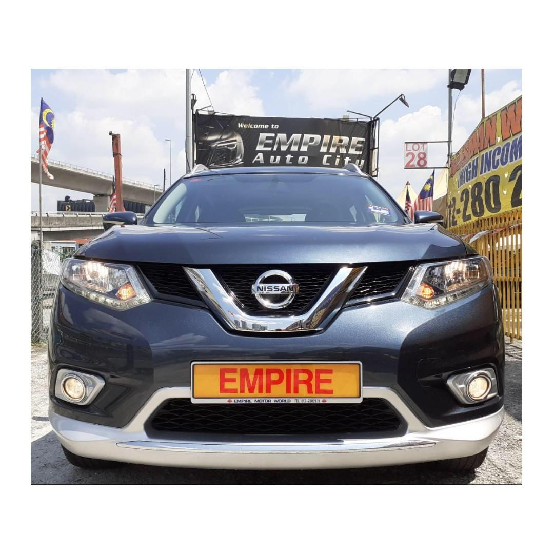 NISSAN X-TRIAL 2.0 (A) IMPUL CVTC !! FULL SERVICE RECORD BY NISSAN !! MILEAGE DONE 44, 553 KM ONLY !! 7 SEATERS SUV !! NEW MODEL !! PREMIUM SUV FULL HIGH SPECS !! ( BXX 6560 ) 1 CAREFUL OWNER !!