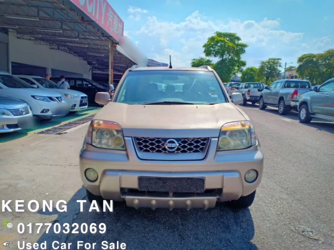 NISSAN XTRIAL 2.5AT 2003TH🎉JUAL CASH SHJ💰Cash OfferPrice💲Rm14,800 Only‼🚘LowestPrice InJB🎉Call📲 Keong