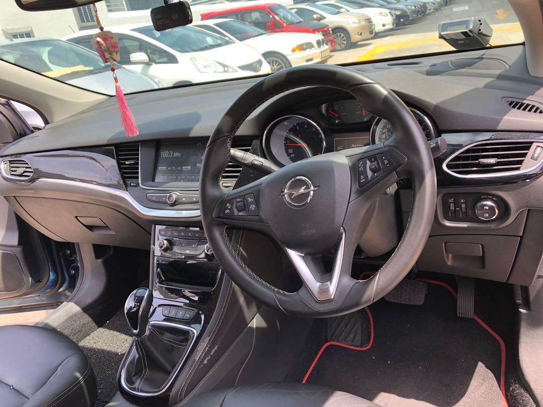 Opel Astra 1.0 Sports Tourer Easytronic (with Intellilux LED) Auto