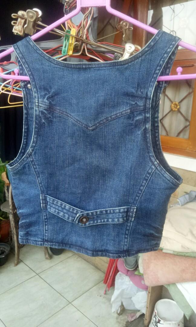 Outer Jeans denim koboi