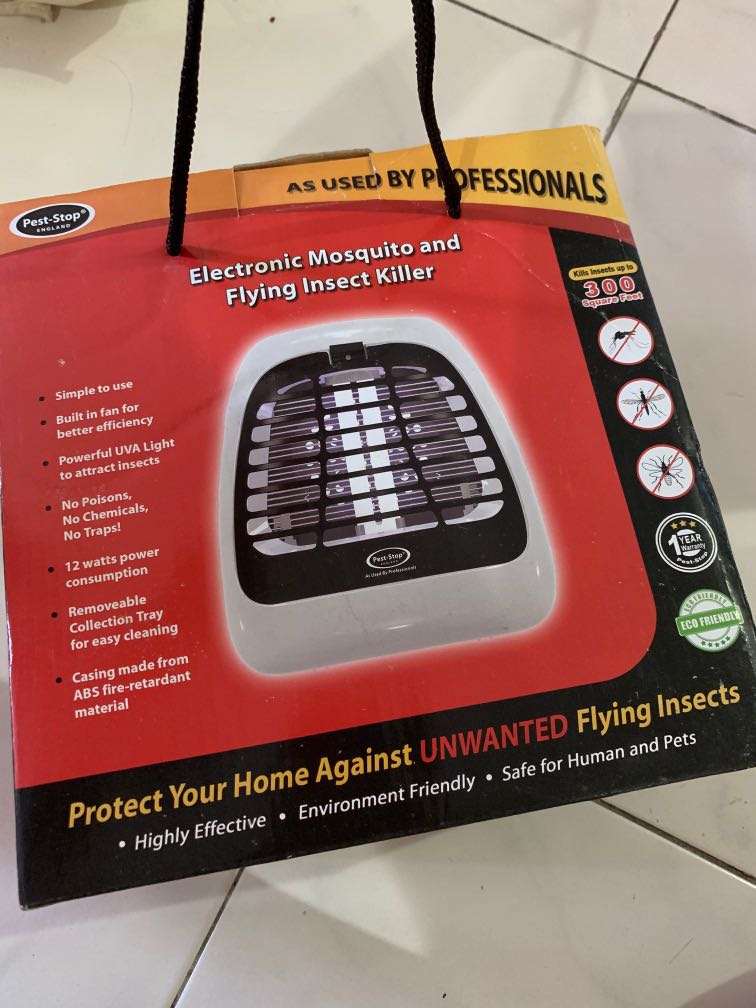 Pest-Stop Electronic Mosquito and Insect Killer