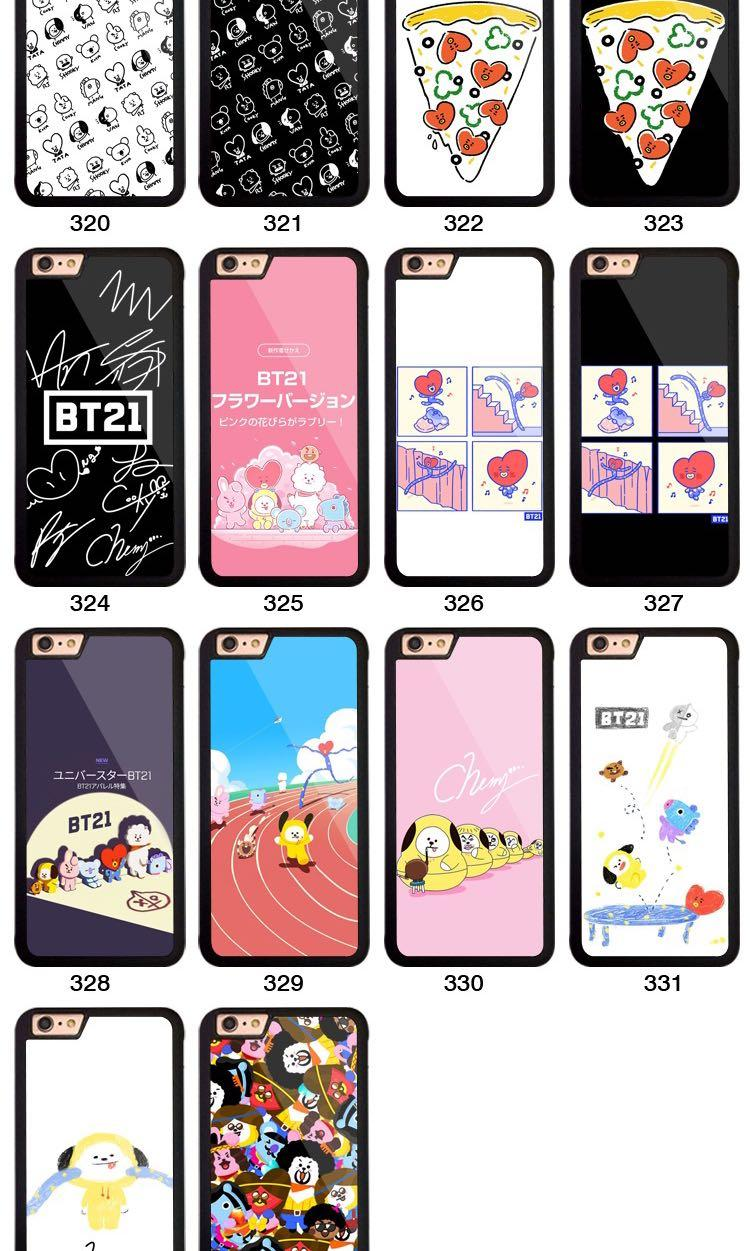 [PO] BTS BT21 PHONE CASE